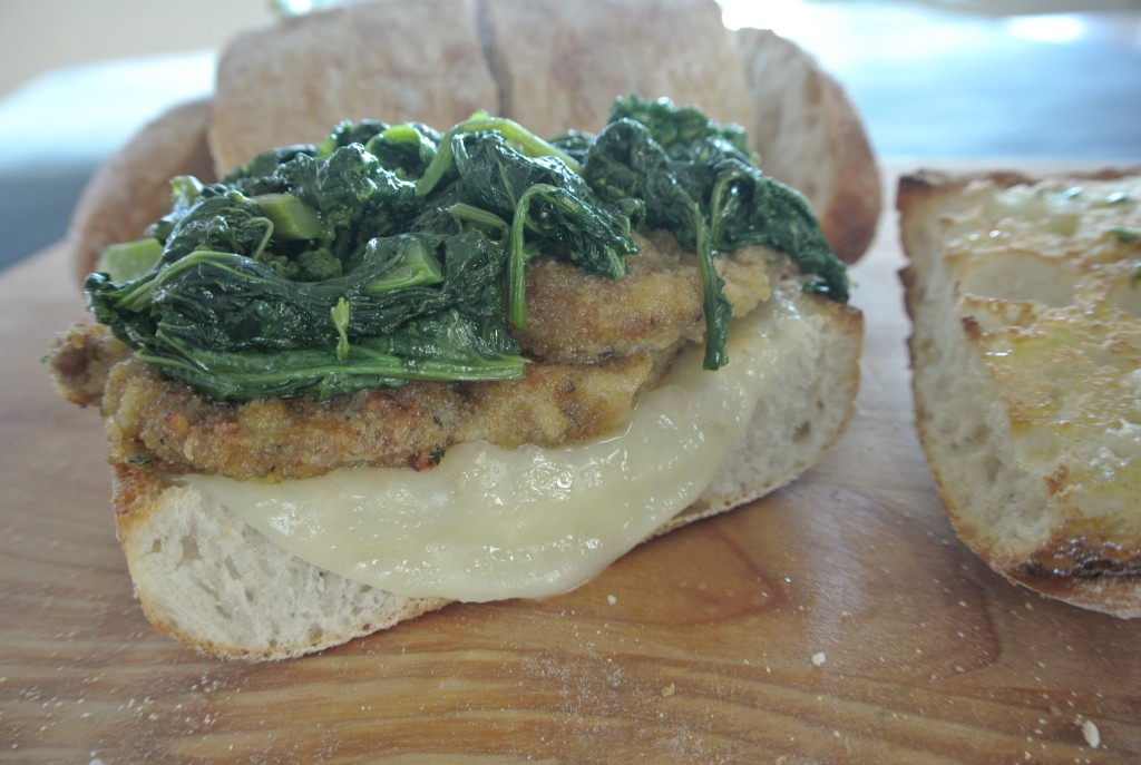 cucinadimammina_beef cutlet & broccoli rabe ciabatta sandwich_26