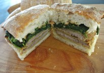 cucinadimammina_beef cutlet & broccoli rabe ciabatta sandwich_40A