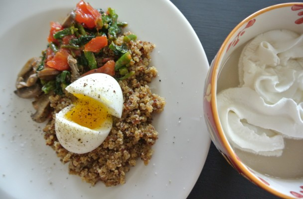 cucinadimammina_quinoa_sautted veggies & soft cooked egg_13