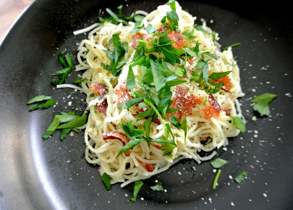 cucinadimammina_capellini ala carbonara_spring_01