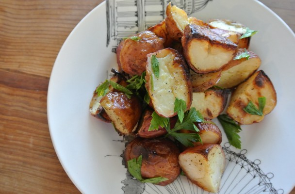 cucinadimammina_vinegar roasted potatoes_12